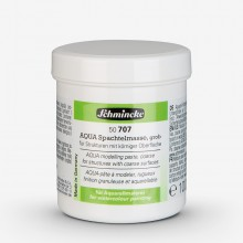 Schmincke : Aqua Watercolour Paint Modelling Paste : Coarse : 125ml :