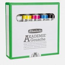 Schmincke : Akademie Gouache : 20ml : Cardboard Set of 5