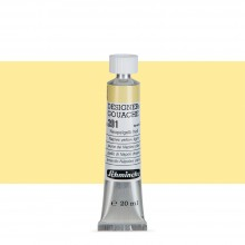 Schmincke : Designers Gouache : 20ml : Naples Yellow Light
