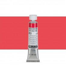Schmincke : Designers Gouache : 20ml : Geranium Red