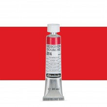 Schmincke : Designers Gouache : 20ml : Scarlet Red