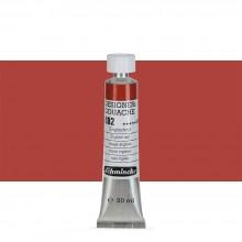 Schmincke : Designers Gouache : 20ml : English Red