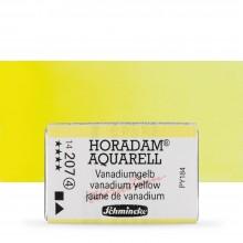Schmincke : Horadam Watercolour Paint : Full Pan : Vanadian Yellow