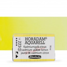 Schmincke : Horadam Watercolour Paint : Full Pan : Cadmium Yellow Lemon