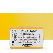 Schmincke : Horadam Watercolour Paint : Full Pan : Cadmium Yellow Deep