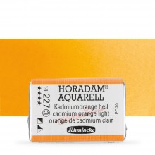 Schmincke : Horadam Watercolour Paint : Full Pan : Cadmium Orange Light