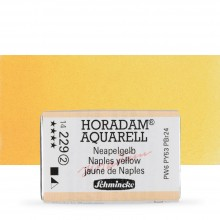 Schmincke : Horadam Watercolour Paint : Full Pan : Naples Yellow