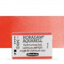 Schmincke : Horadam Watercolour Paint : Full Pan : Cadmium Red Light