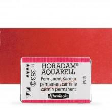 Schmincke : Horadam Watercolour Paint : Full Pan : Permanent Carmine