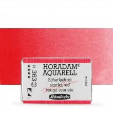 Schmincke : Horadam Watercolour Paint : Full Pan : Scarlet Red