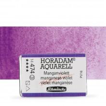 Schmincke : Horadam Watercolour Paint : Full Pan : Manganese Violet
