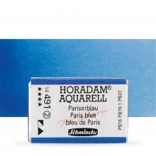 Schmincke : Horadam Watercolour Paint : Full Pan : Paris Blue