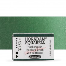 Schmincke : Horadam Watercolour Paint : Full Pan : Hookers Green