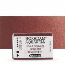 Schmincke : Horadam Watercolour Paint : Full Pan :Indian Red