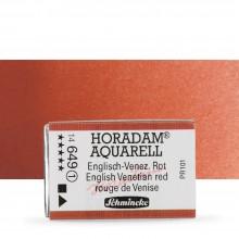 Schmincke : Horadam Watercolour Paint : Full Pan : English Venetian Red