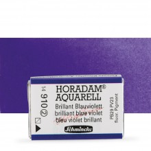 Schmincke : Horadam Watercolour Paint : Full Pan : Brilliant Blue Violet
