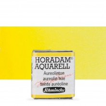 Schmincke : Horadam Watercolour Paint : Half Pan : Aureolin Modern