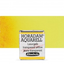 Schmincke : Horadam Watercolour : Half Pan : Transparent Yellow (Translucent Yellow)