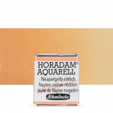 Schmincke : Horadam Watercolour Paint : Half Pan : Naples Yellow Reddish
