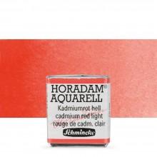 Schmincke : Horadam Watercolour Paint : Half Pan : Cadmium Red Light