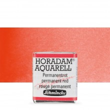 Schmincke : Horadam Watercolour Paint : Half Pan : Permanent Red