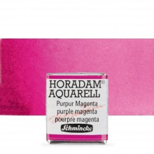 Schmincke : Horadam Watercolour Paint : Half Pan : Purple Magenta