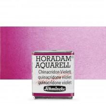Schmincke : Horadam Watercolour Paint : Half Pan : Quinacridone Violet
