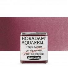 Schmincke : Horadam Watercolour Paint : Half Pan : Perylene Violet