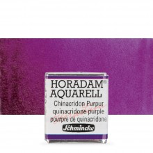 Schmincke : Horadam Watercolour Paint : Half Pan : Quinacridone Purple