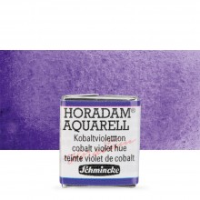 Schmincke : Horadam Watercolour Paint : Half Pan : Cobalt Violet Hue