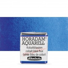Schmincke : Horadam Watercolour Paint : Half Pan : Cobalt Blue Tone