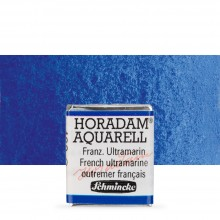 Schmincke : Horadam Watercolour Paint : Half Pan : French Ultramarine