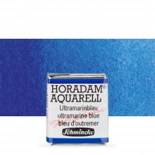 Schmincke : Horadam Watercolour Paint : Half Pan : Ultramarine Bl