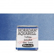 Schmincke : Horadam Watercolour : Half Pan : Dark Blue (Dark Blue Indigo)