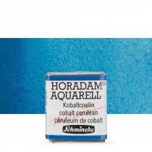 Schmincke : Horadam Watercolour Paint : Half Pan : Cobalt Cerulean