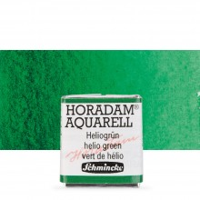 Schmincke : Horadam Watercolour Paint : Half Pan : Helio Green