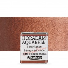 Schmincke : Horadam Watercolour Paint : Half Pan : Mahogany Brown