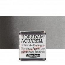 Schmincke : Horadam Watercolour Paint : Half Pan : Schmincke Payne's Grey