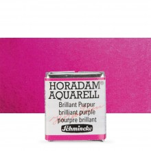 Schmincke : Horadam Watercolour Paint : Half Pan : Brilliant Purple