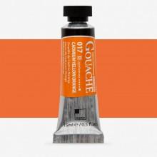 ShinHan : Professional Designers Gouache : 15ml : Cadmium Yellow Orange