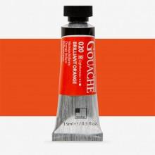 ShinHan : Professional Designers Gouache : 15ml : Brilliant Orange