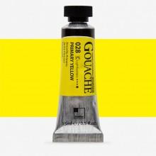 ShinHan : Professional Designers Gouache : 15ml : Primary Yellow