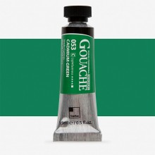 ShinHan : Professional Designers Gouache : 15ml : Cadmium Green