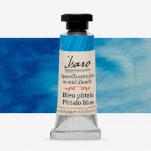 Isaro : Watercolour Paint : 7ml : Phtalo Blue