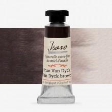 Isaro : Watercolour Paint : 7ml : Van Dyke Brown