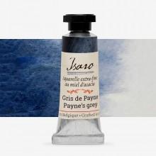 Isaro : Watercolour Paint : 7ml : Payne's Grey