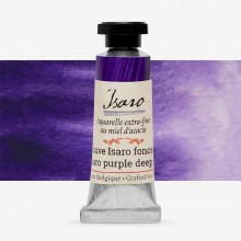 Isaro : Watercolour Paint : 7ml : Isaro Purple Deep