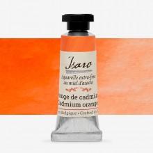 Isaro : Watercolour Paint : 7ml : Cadmium Orange