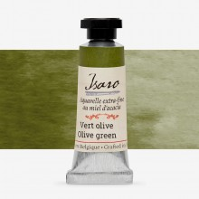 Isaro : Watercolour Paint : 7ml : Olive Green