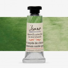Isaro : Watercolour Paint : 7ml : Chromium Oxide Green